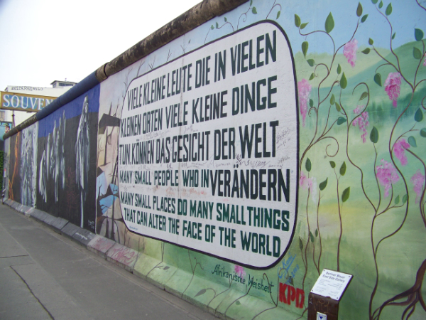 Many Small Places- East Side Gallery, Berlin