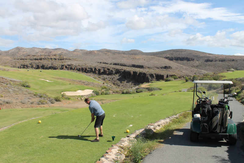 Golfing in the Canary Islands