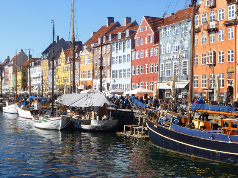 Adorable Nyhavn in Copenhagen.