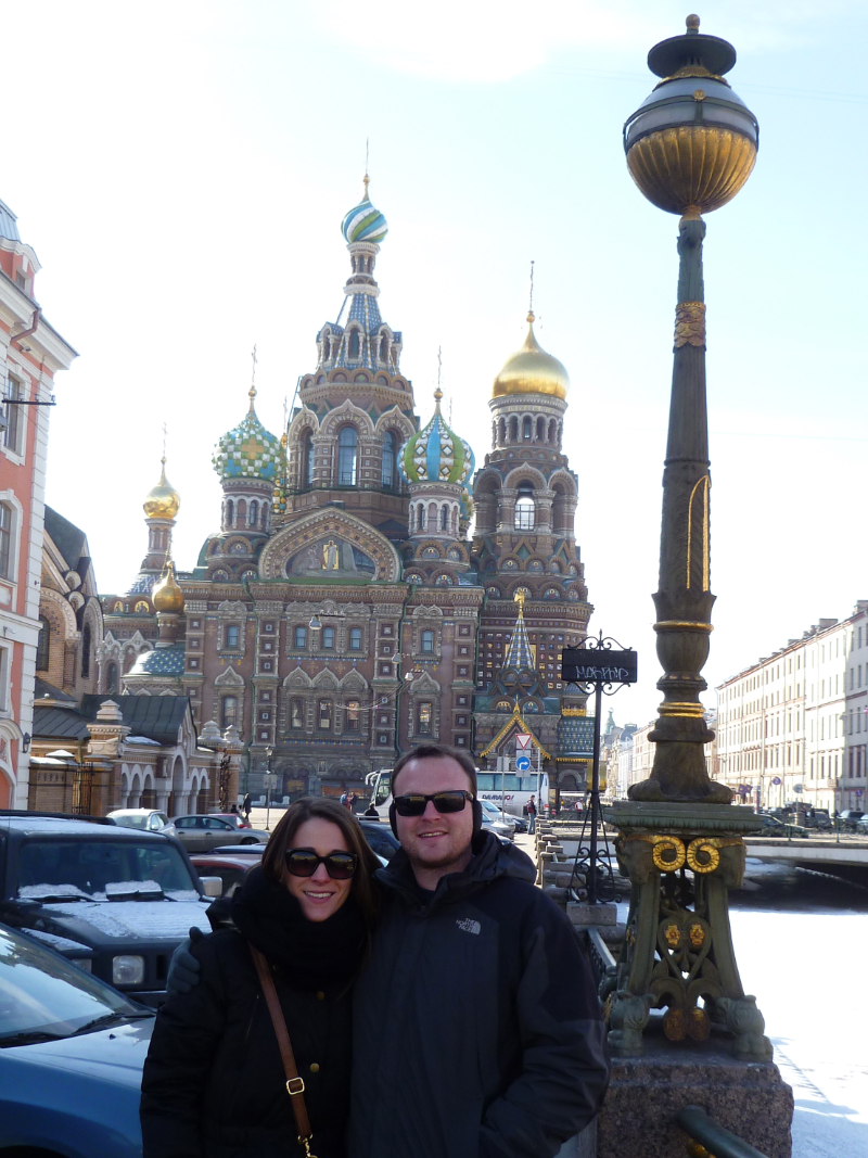 Church on Spilled Blood in St. Petersburg